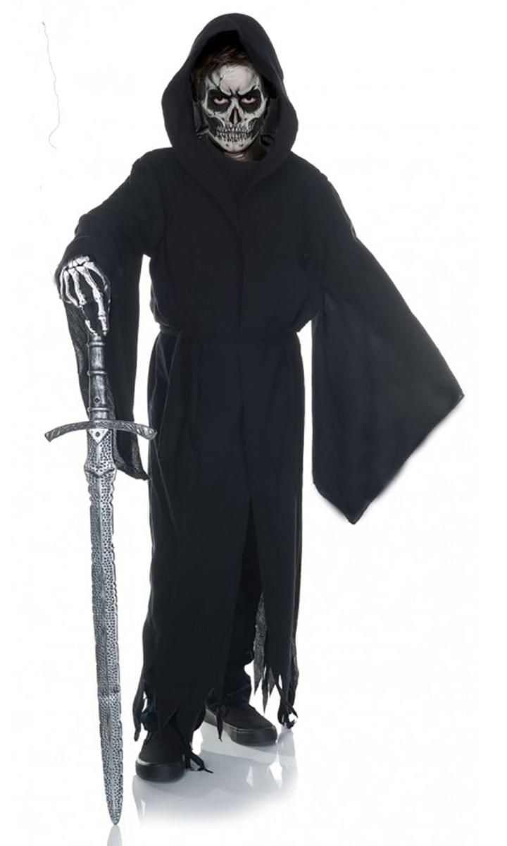 Grim Reaper Tattered Robe Child Costume