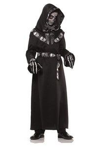 Skull Master Hooded Robe Child Costume
