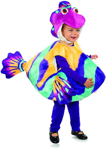 Splash and Bubbles Bubbles Belly Baby Toddler Costume | Large