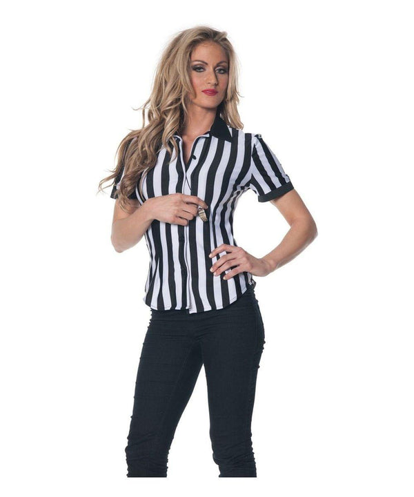 Fitted Referee Costume Shirt Female X-Large
