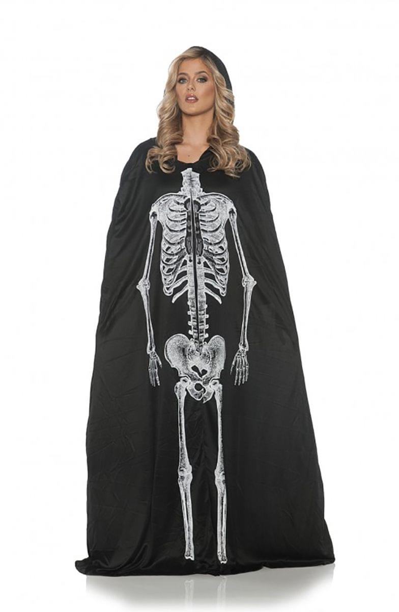 Skeleton Adult Costume Cape