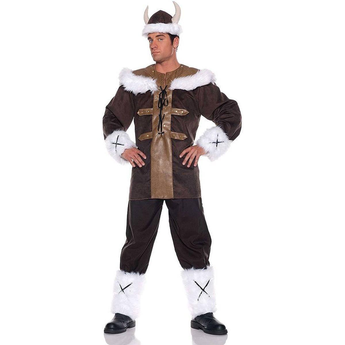 Viking Warrior Man Tunic Costume Adult