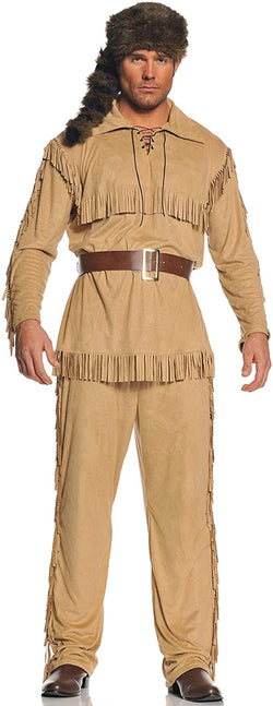 Frontier Man Adult Costume: One Size