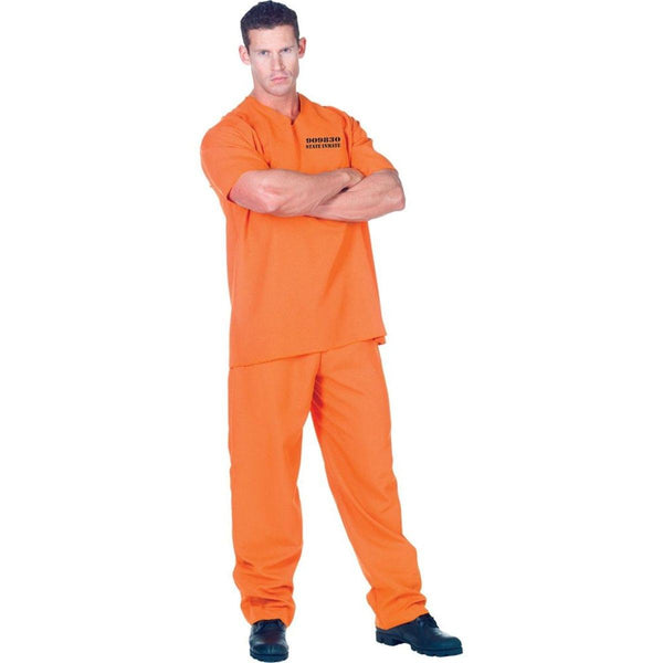 Public Offender Adult Male Costume