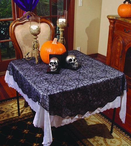 Spider Lace Table Cloth-Round