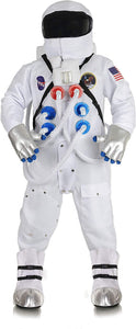 Deluxe Astronaut Suit Adult Costume | White | One Size