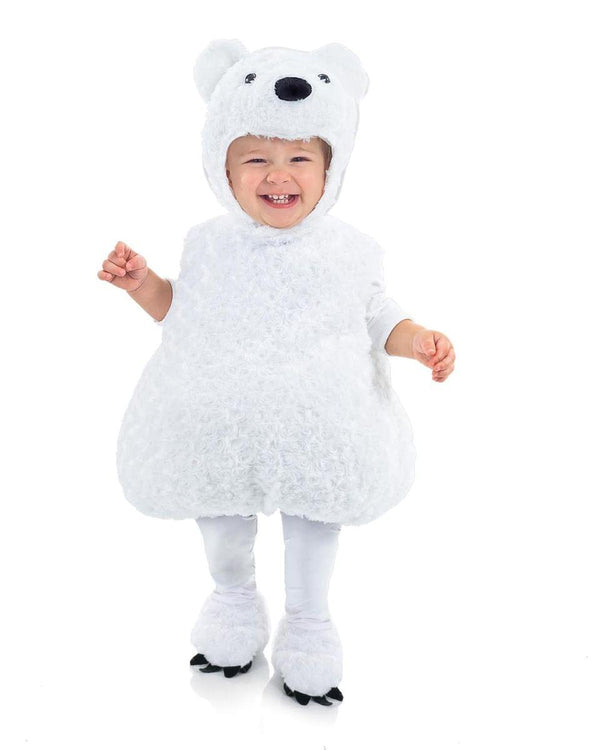 Belly Babies Polar Bear Costume Child Toddler