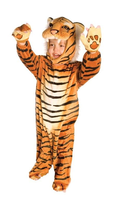 Brown Plush Tiger Costume Child Infant