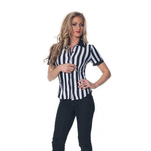 Referee Adult Costume Fitted Shirt