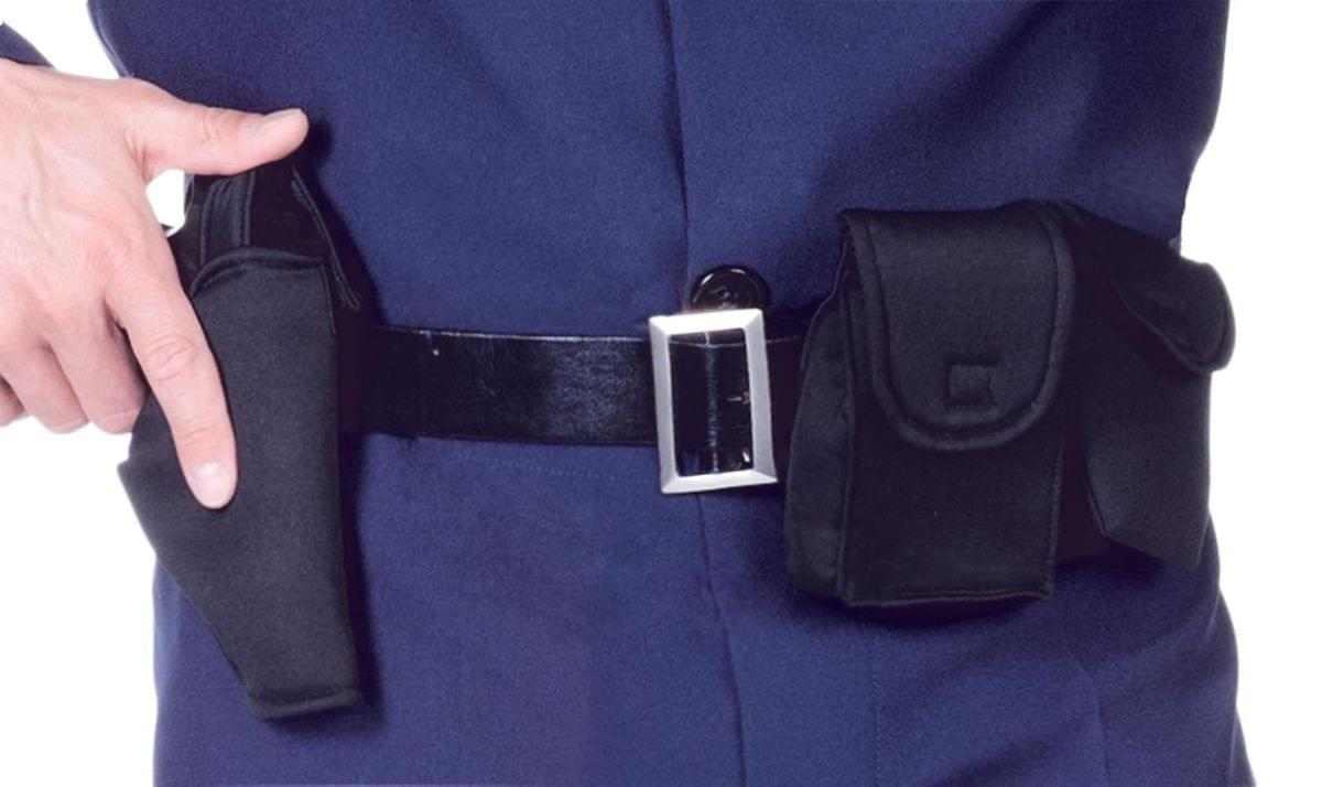 Police Utility Belt Costume Accessory Adult One Size Fits Most