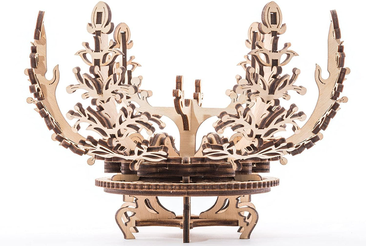 UGears Mechanical Models 3D Wooden Puzzle | Flower