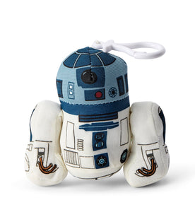 Star Wars Mini Talking Plush Toy Clip On - R2D2