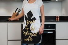 "Load image into Gallery viewer, Star Wars White Adult Apron - ""A Force To Be Reckoned With"" - Rebel Design"