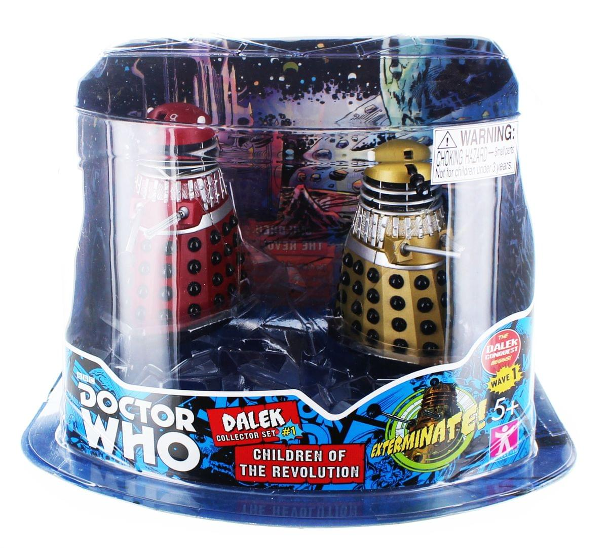 "Doctor Who 3.75"" Action Figure Set #1: ''Children of the Revolution''"