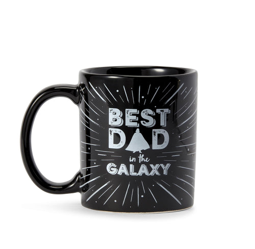 "Star Wars ""Best Dad In The Galaxy"" Coffee Mug - 11oz Vader Father's Day Gift"