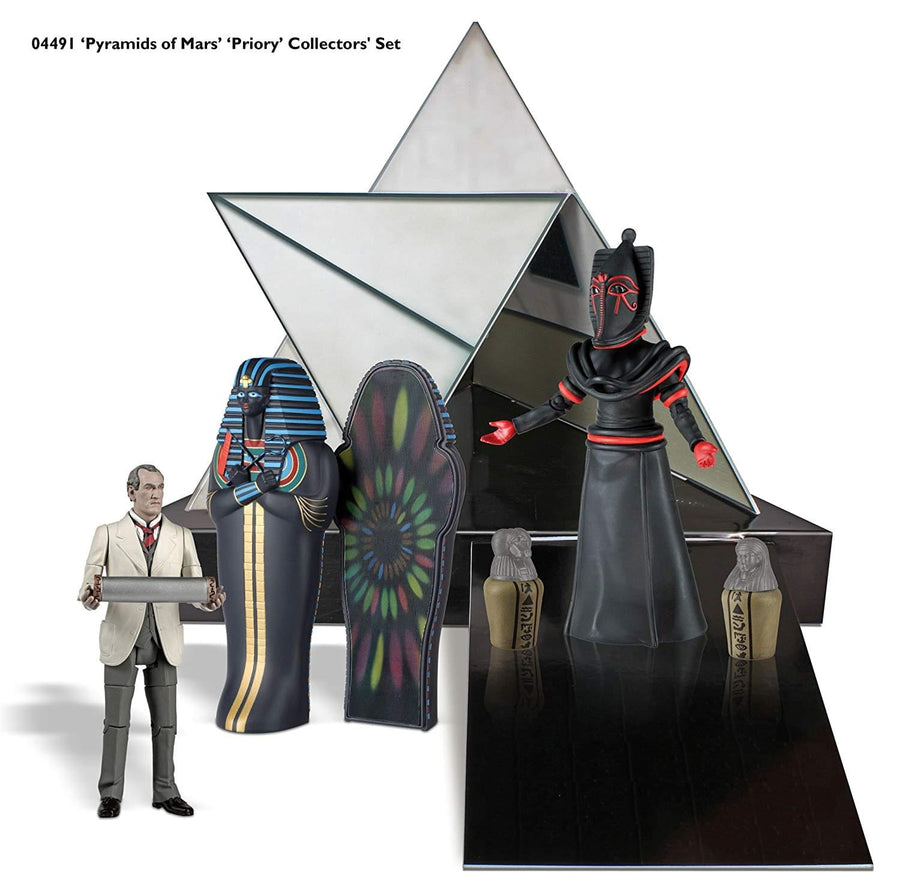 "Doctor Who ""Pyramids of Mars"" 5"" Action Figure Box Set"