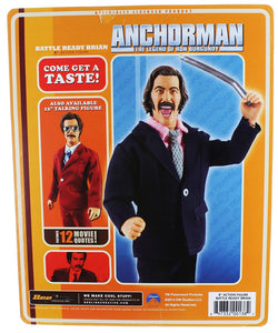Anchorman 8-Inch Action Figure: Battle Ready Brian