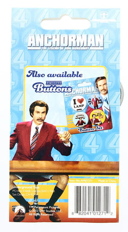 Anchorman The Legend of Ron Burgundy Keychain