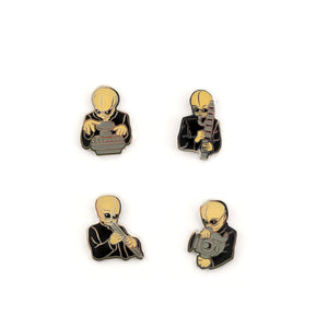 Star Wars Cantina Band Collectible Pin Set | Exclusive Star Wars Collector Pins