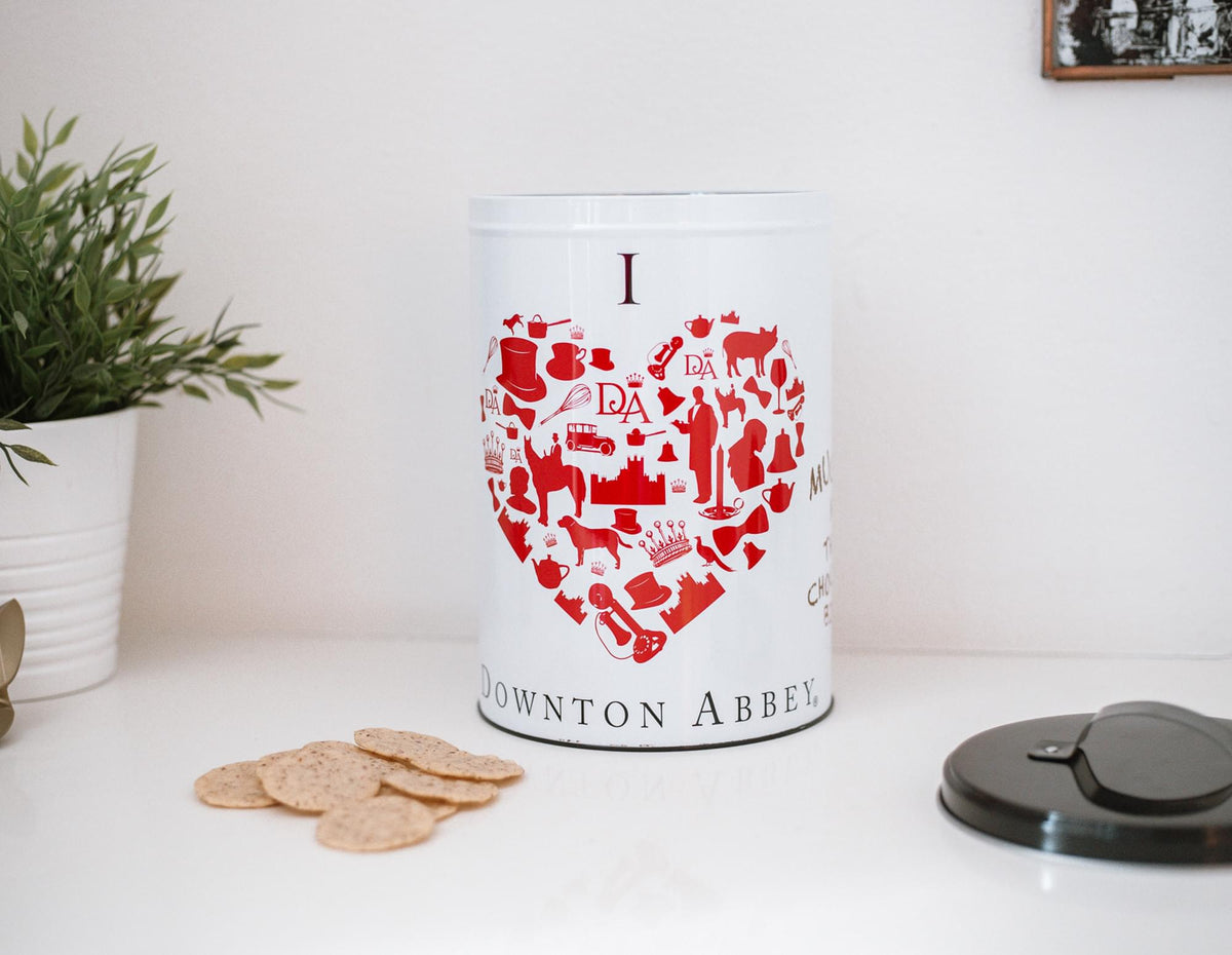 Downton Abbey Biscuit Tin