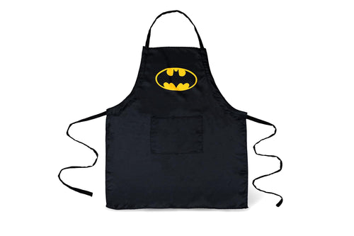 DC Comics Batman Logo Adjustable Adult Apron W/ Pockets | One Size