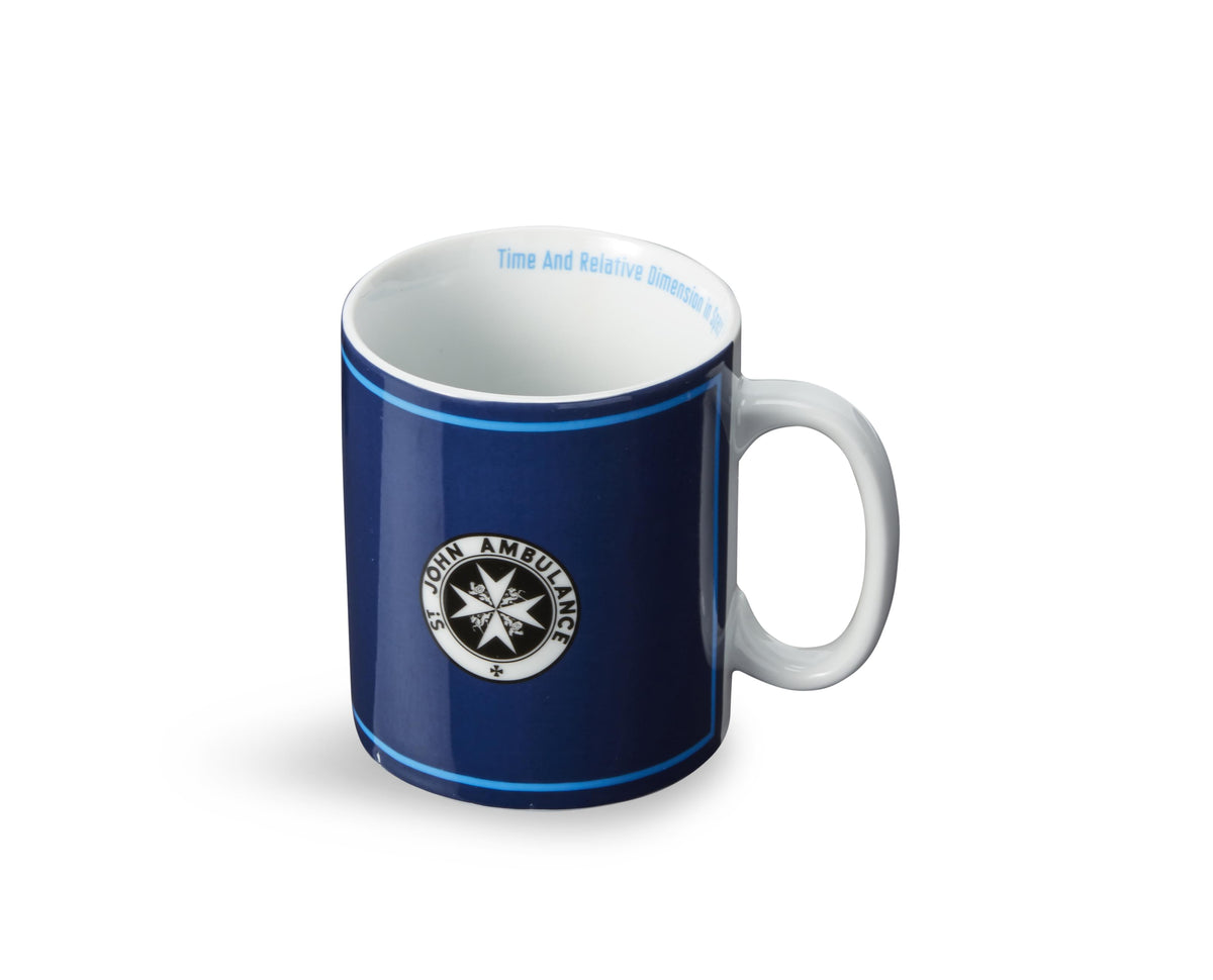 Doctor Who Ceramic 20-Oz Mug - St. John Ambulance