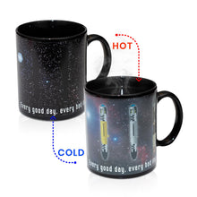 Load image into Gallery viewer, Doctor Who Sonic Screwdriver 12oz Heat Reveal Mug