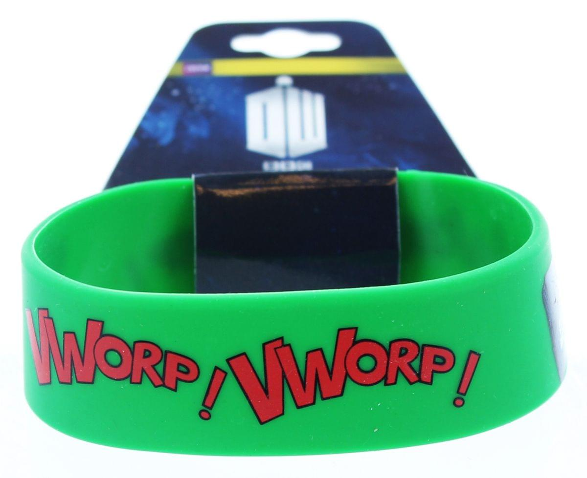 Doctor Who Rubber Wristband Vworp!