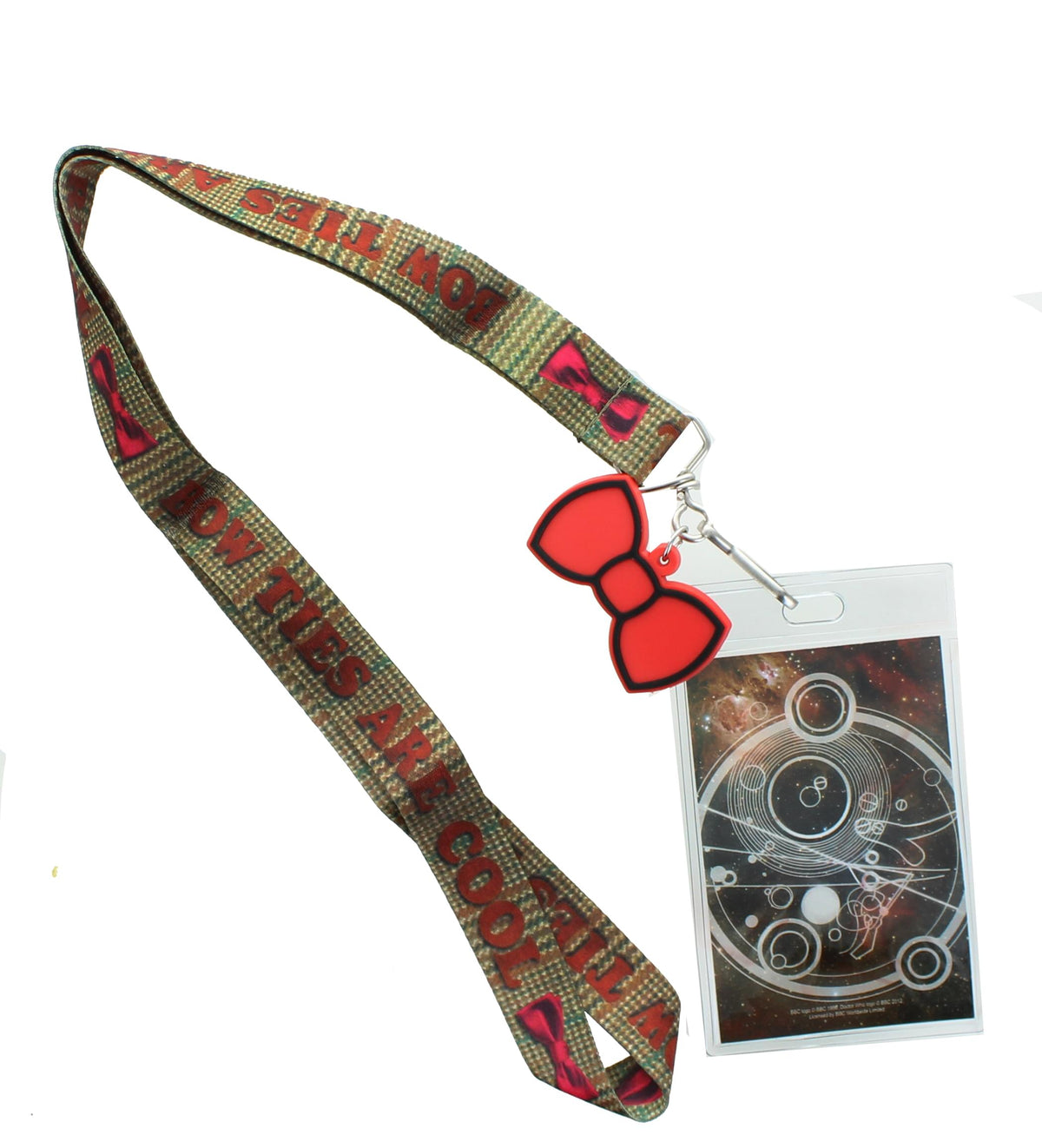 Doctor Who Bow Ties Are Cool with 2D Bow Tie Lanyard Charm