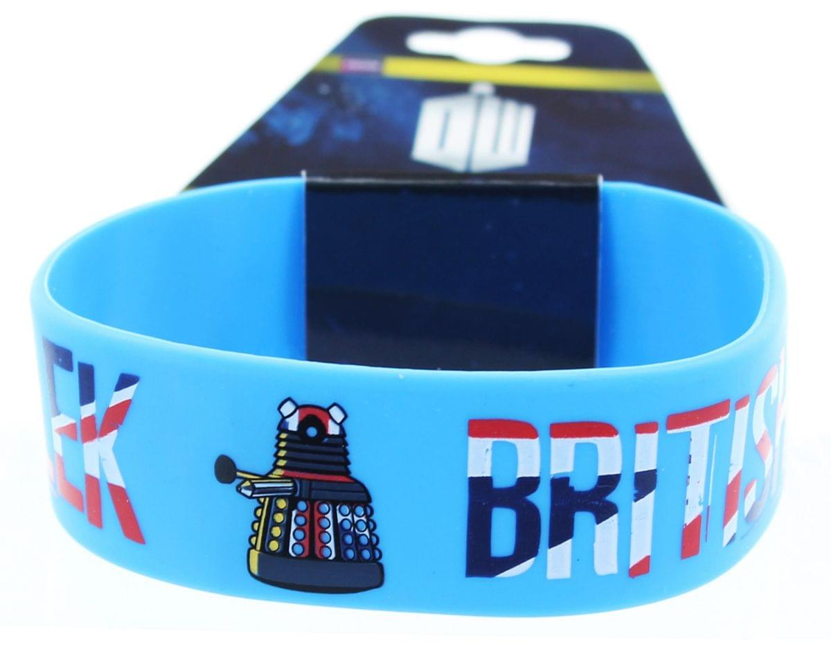 Doctor Who Rubber Wristband Dalek British Invasion