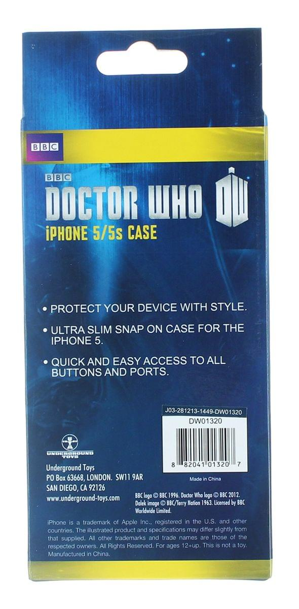 Doctor Who iPhone 5 Hard Snap Case Doctor Wanted