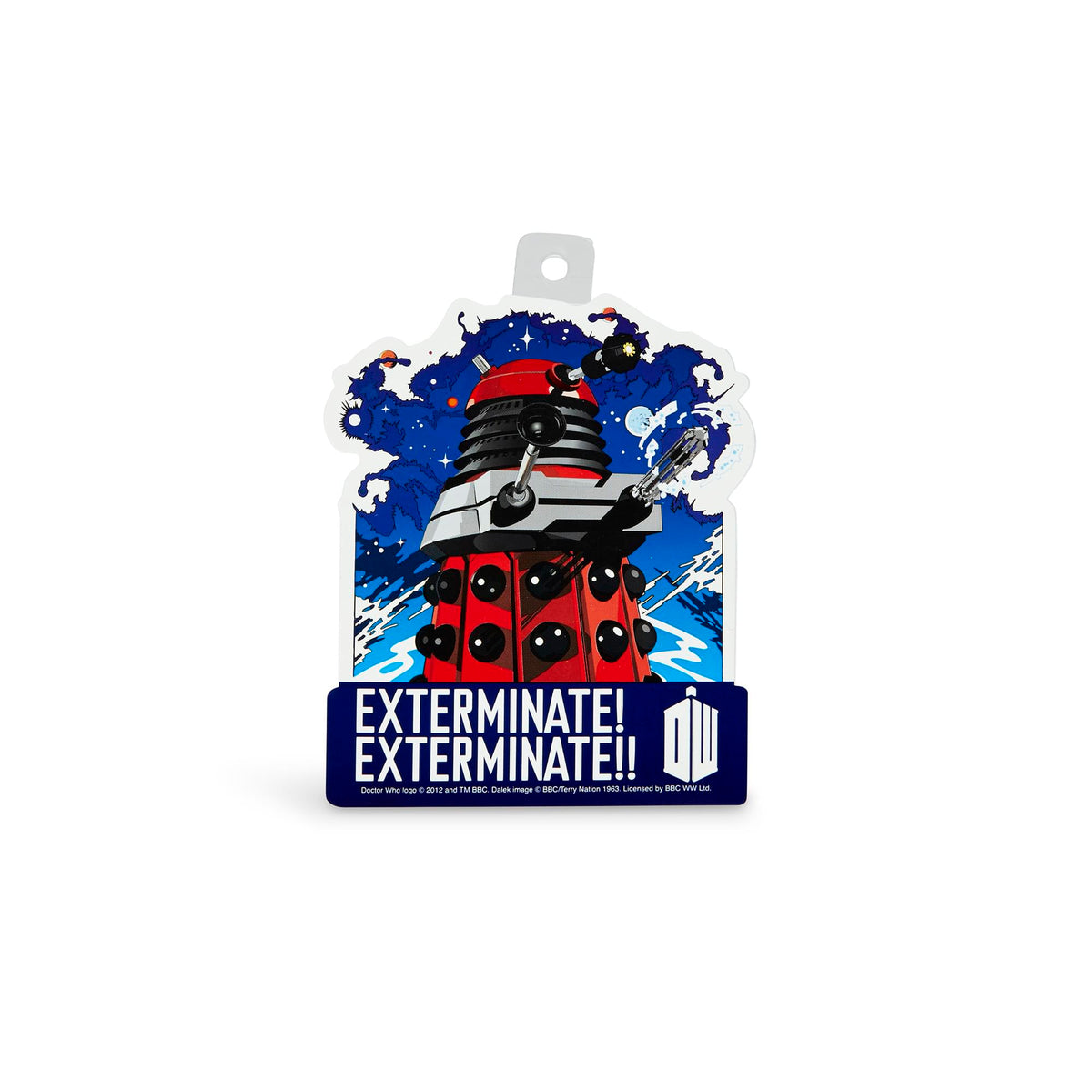 Doctor Who Sticker: Exterminate