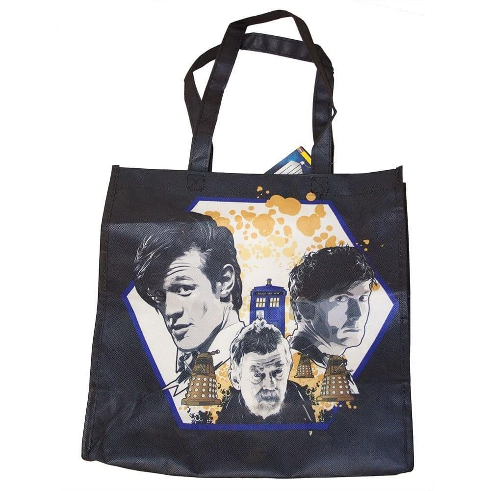 Doctor Who 50th Anniversary Anthony Dry Tote Bag