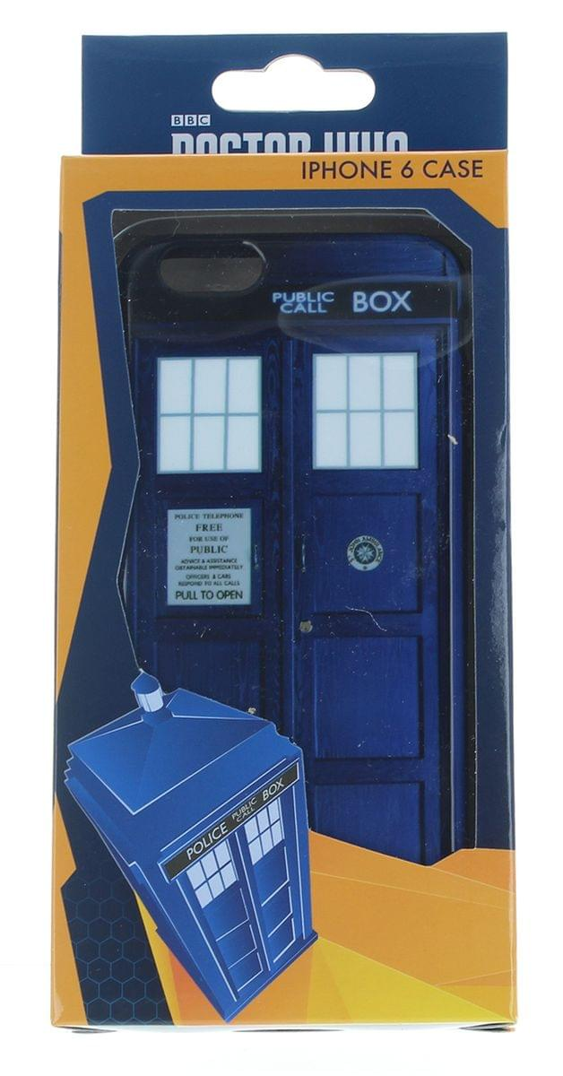 Doctor Who TARDIS Flexi Plastic iPhone 6 Case