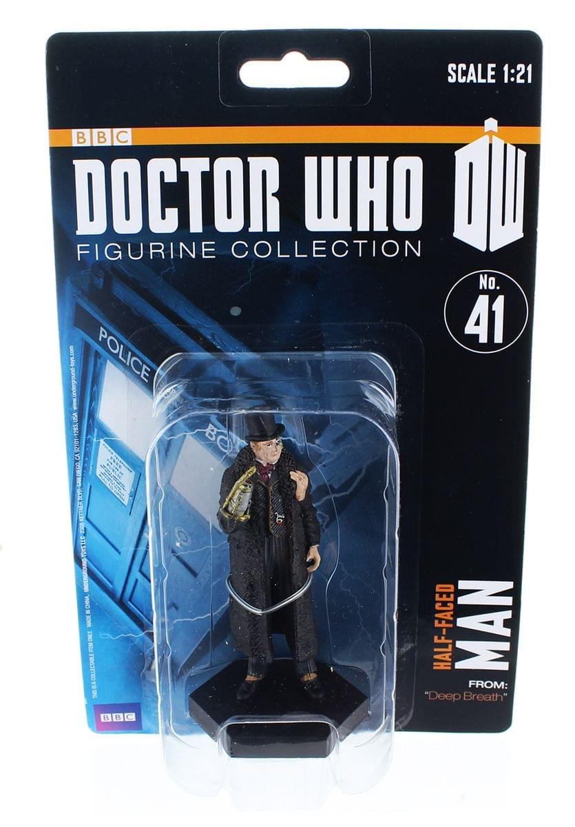 "Doctor Who 4"" Resin Figure: Half-Face Man"