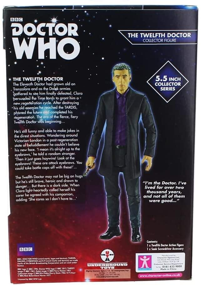"Doctor Who 5.5"" Action Figure: 12th Doctor (Purple Shirt)"