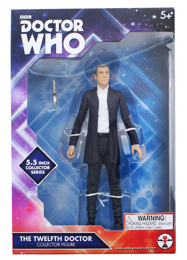 "Doctor Who 5.5"" Action Figure: 12th Doctor (White Shirt)"