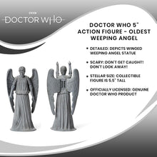"Load image into Gallery viewer, Doctor Who 5"" Action Figure - Oldest Weeping Angel"
