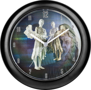 Doctor Who Weeping Angel Lenticular Wall Clock