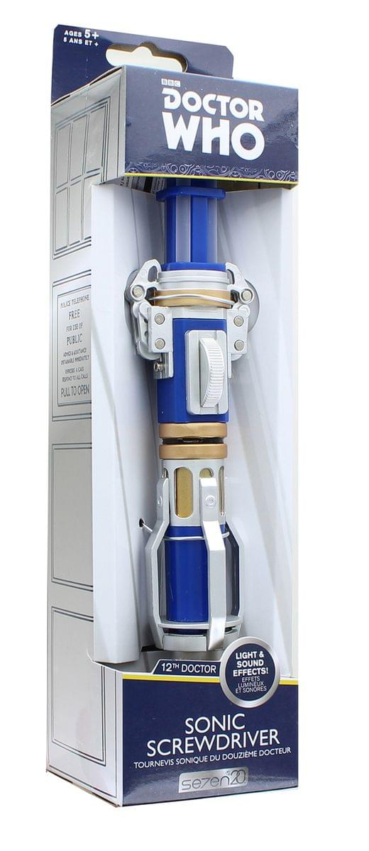 Doctor Who 12th Doctor Light & Sound Sonic Screwdriver Replica