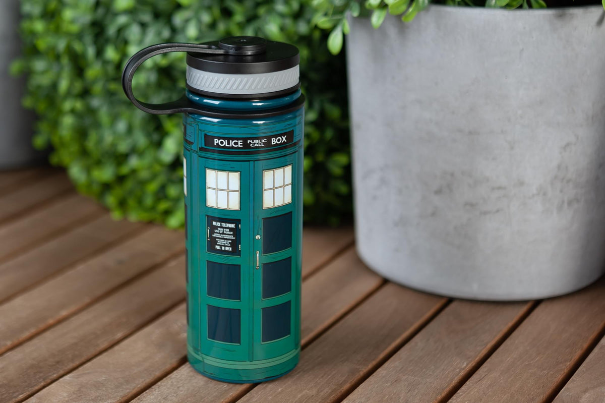 Doctor Who 13th Doctor Tardis Stainless Steel Water Bottle