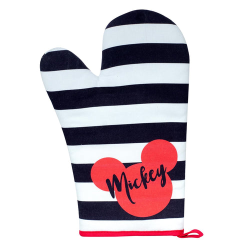 Disney Mickey Mouse Polka Dot Geo Glam Oven Mitt