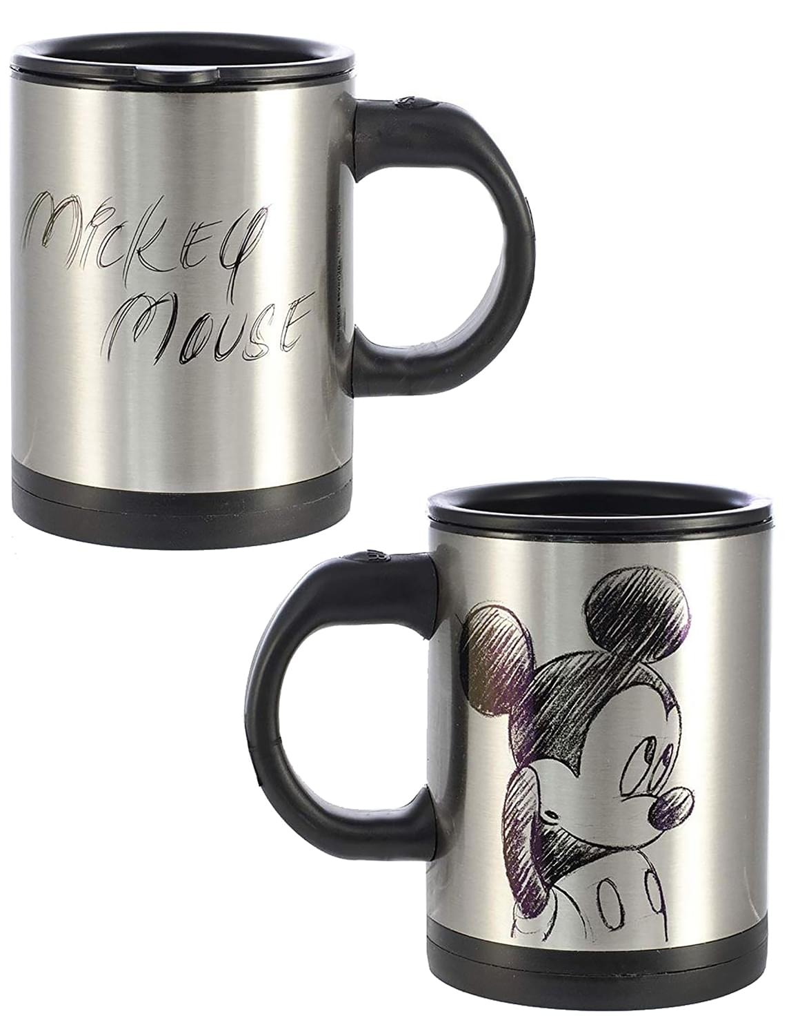 Disney Mickey Mouse Sketch Art Self-Stirring Mug