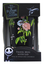 Load image into Gallery viewer, Nightmare Before Christmas Patched Up 12oz Ceramic Tumbler