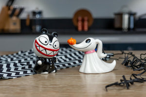 Nightmare Before Christmas Scary Teddy & Zero Ceramic Salt & Pepper Shakers