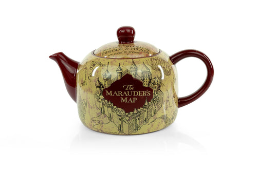 Harry Potter Marauder's Map Teapot | Decorative Collectible | 40-Ounce Capacity