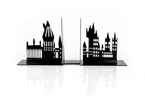 Harry Potter Hogwarts Castle Metal Bookends For Harry Potter Books & Collections