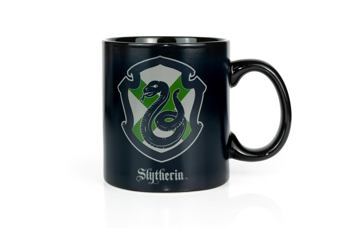 Harry Potter Slytherin 20oz Heat Reveal Ceramic Coffee Mug | Color Changing Cup
