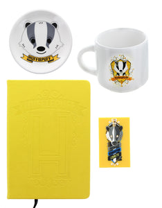Harry Potter House Hufflepuff Gift Set | Journal | Mug | Magnet | Trinket Tray