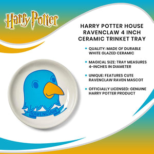 Harry Potter House Ravenclaw 4 Inch Ceramic Trinket Tray